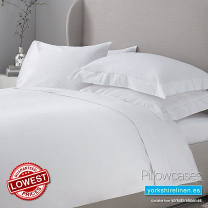 Essential 200 Thread Count Pillowcases Yorkshire Linen Warehouse Mijas Marbella Spain P01