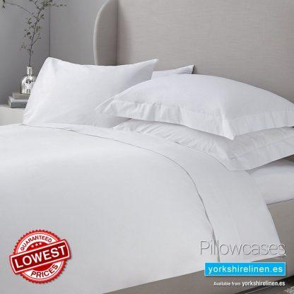 Essential 200 Thread Count Pillowcases Yorkshire Linen Warehouse Mijas Marbella Spain P01
