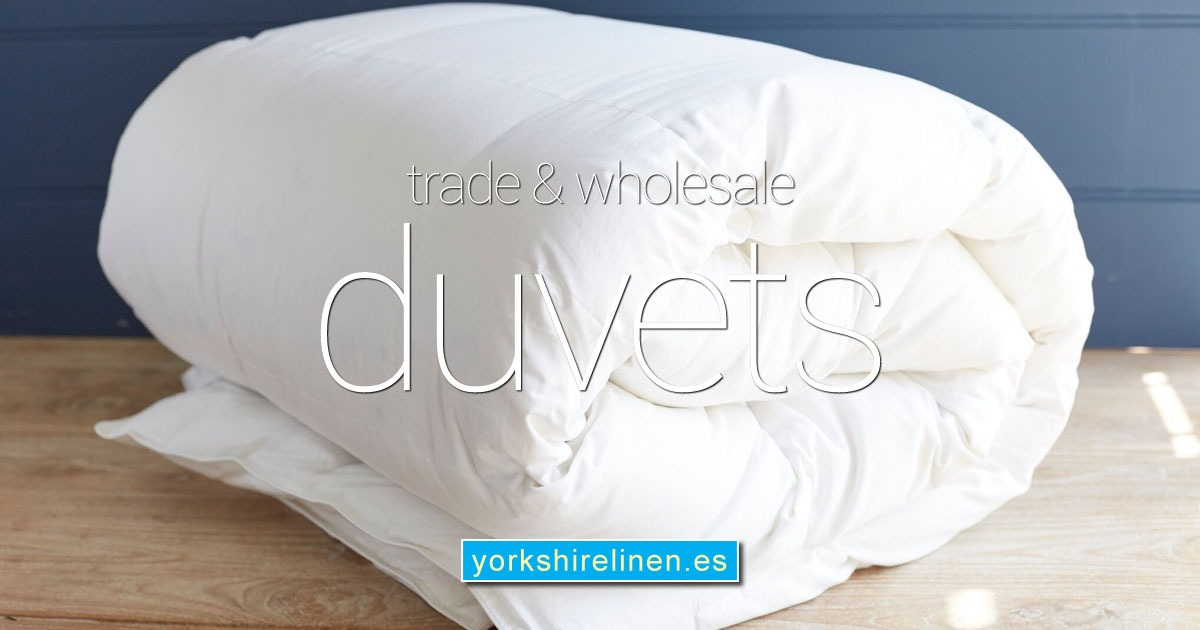 Trade Wholesale Duvets from Yorkshire Linen Warehouse Spain OG01