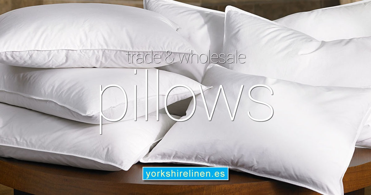 Trade Wholesale Pillows from Yorkshire Linen Warehouse Spain OG01