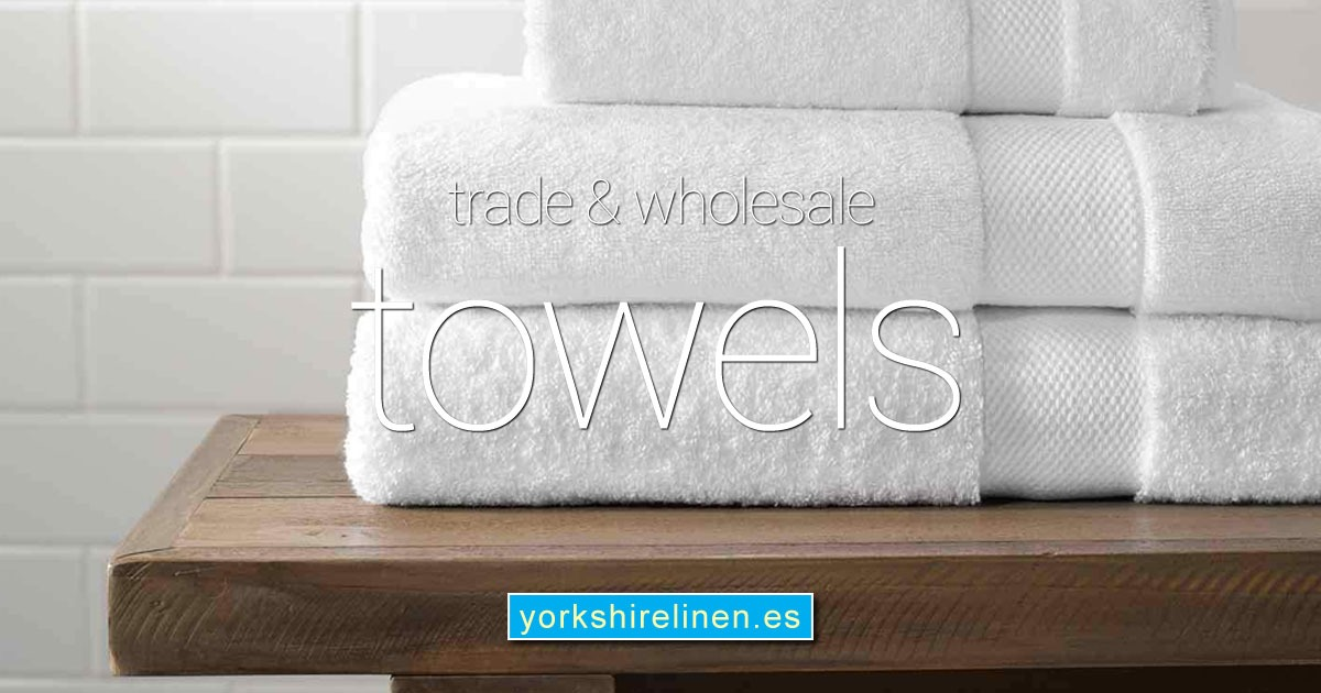 Trade Wholesale Towels from Yorkshire Linen Warehouse Spain OG01